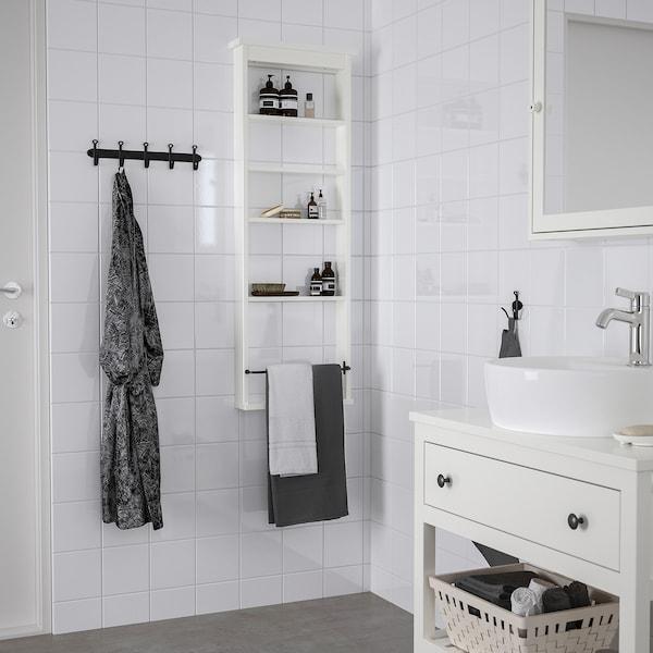 HEMNES Prestatge de paret, blanc, 42x118 cm