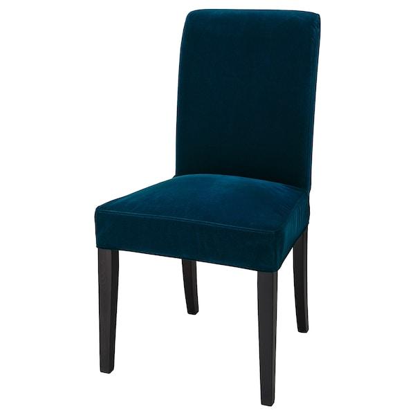 HENRIKSDAL Funda per a cadira, Djuparp blau verdós fosc