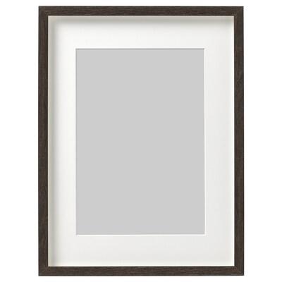 HOVSTA Estructura, marró fosc, 30x40 cm