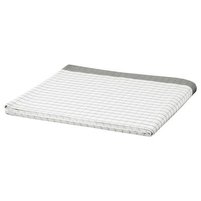 IKEA 365+ Estovalles, blanc/gris, 145x240 cm