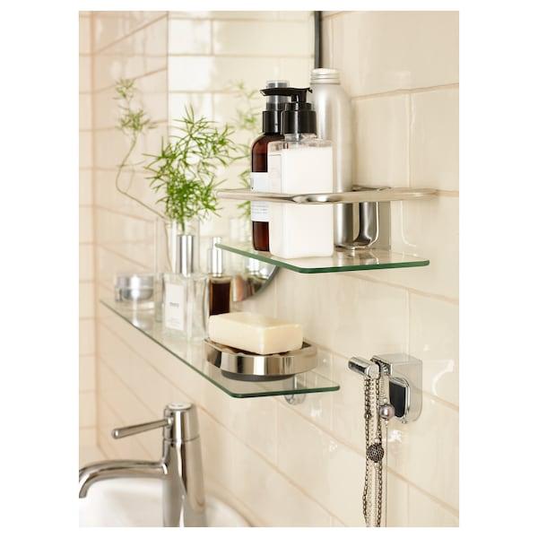 KALKGRUND Prestatge per dutxa, cromat, 24x6 cm