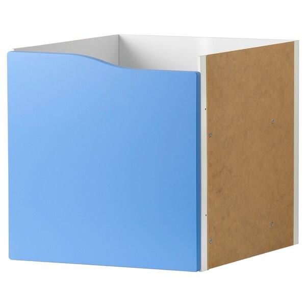 KALLAX Accessori amb porta, blau, 33x33 cm