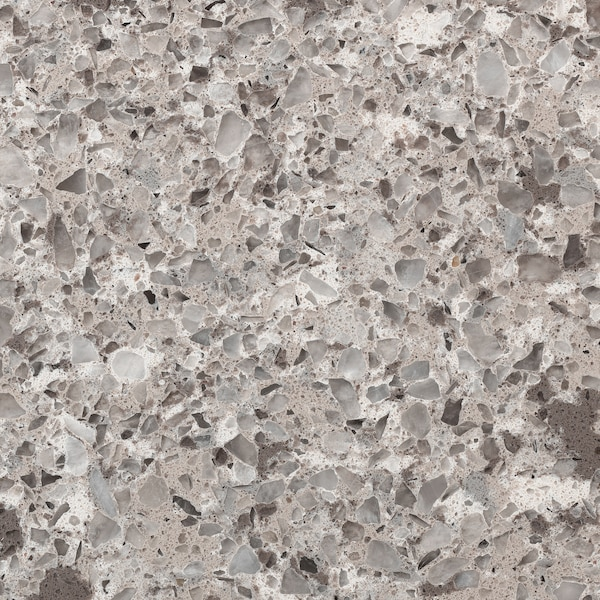 KASKER Taulell a mida, marró grisenc acabat mineral/quars, 1 m²x2.0 cm