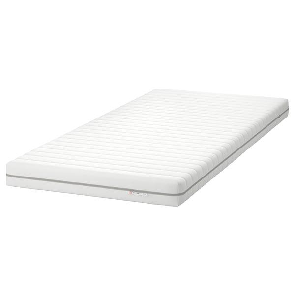 MALFORS Matalàs d'escuma, fermesa mitjana/blanc, 90x200 cm