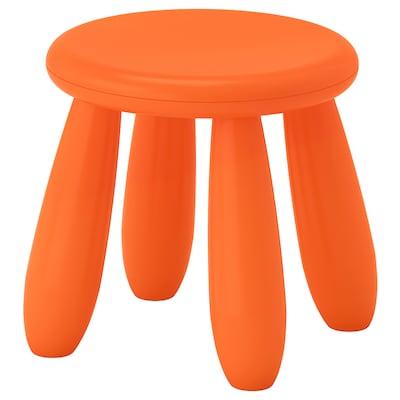 MAMMUT Tamboret per nens, interior/exterior/taronja
