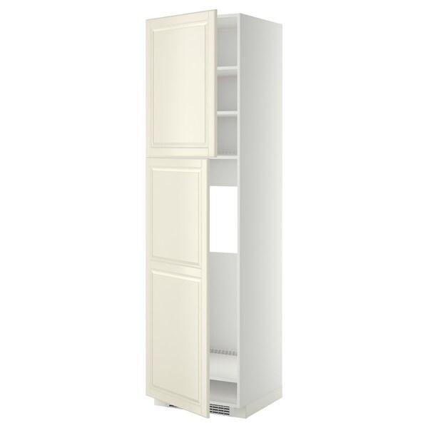 METOD Aa frigo 2p, blanc/Bodbyn os, 60x60x220 cm