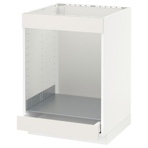 METOD Ab plca/forn cjn, blanc/Sävedal blanc, 60x60 cm