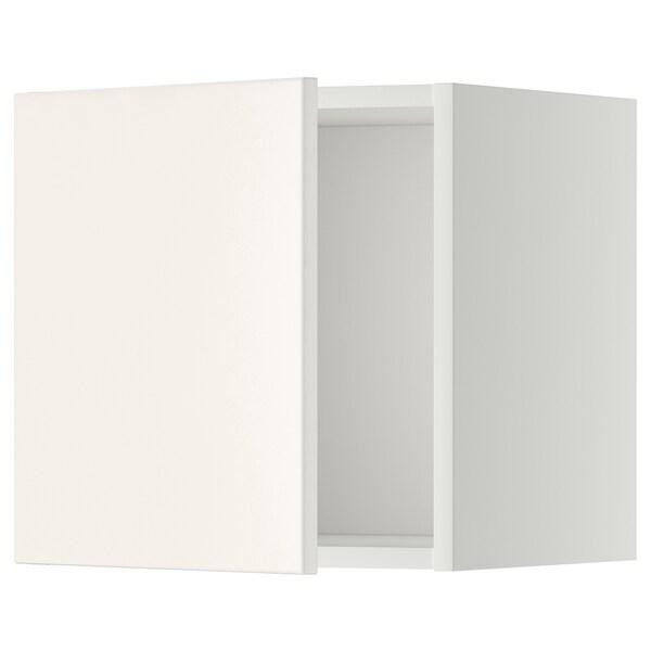 METOD Armari de paret, blanc/Veddinge blanc, 40x40 cm