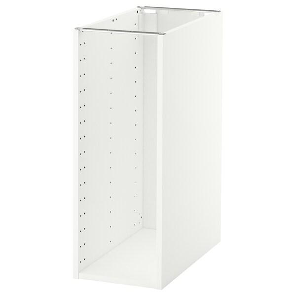 METOD Estructura d'armari baix, blanc, 30x60x80 cm