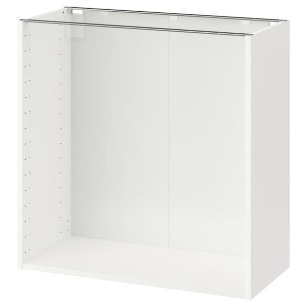 METOD Estructura d'armari baix, blanc, 80x37x80 cm