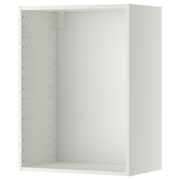 METOD Estructura d'armari de paret, blanc, 60x37x80 cm