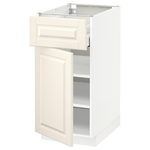 METOD / MAXIMERA Ab 1p/1c, blanc/Bodbyn os, 40x60 cm