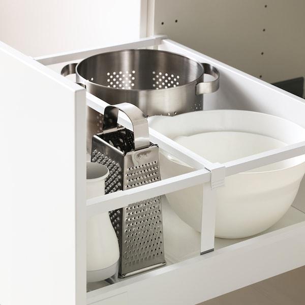 METOD / MAXIMERA Ab 2f/4c, blanc/Bodbyn os, 60x60 cm