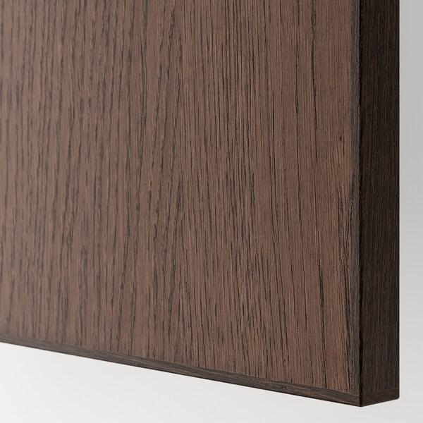 METOD / MAXIMERA Ab plca/forn clx, blanc/Sinarp marró, 60x60 cm