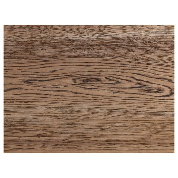 MÖRBYLÅNGA Taula, fullola de roure tint marró, 140x85 cm