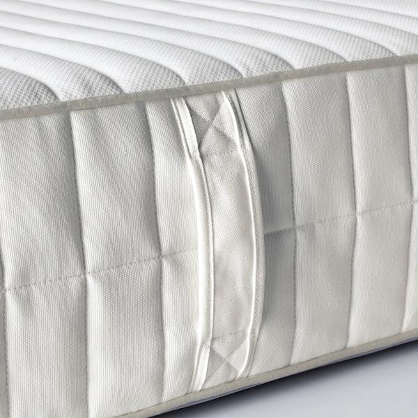 MYRBACKA Matalàs escuma viscoelàstica, ferm/blanc, 140x200 cm