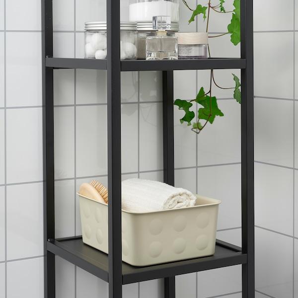NOJIG Organitzador, plàstic/beix, 20x25x10 cm