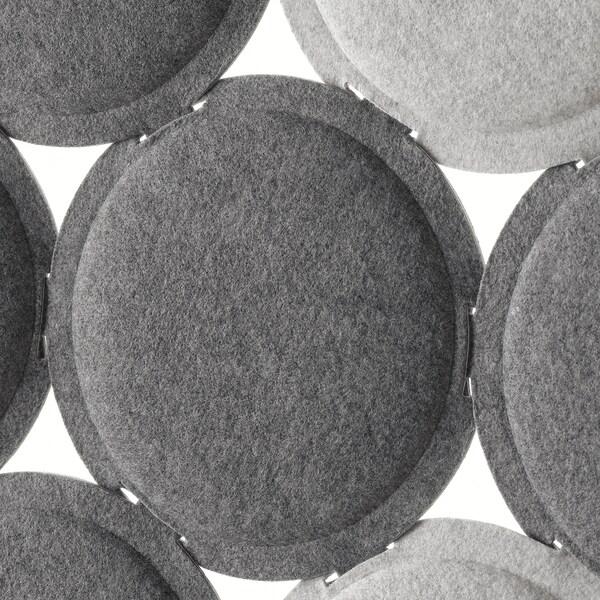 ODDLAUG Plafó absorció soroll, gris