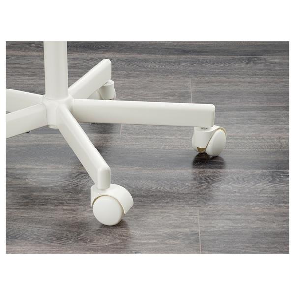 ÖRFJÄLL Cadira escriptori infantil, blanc/Vissle gris fosc