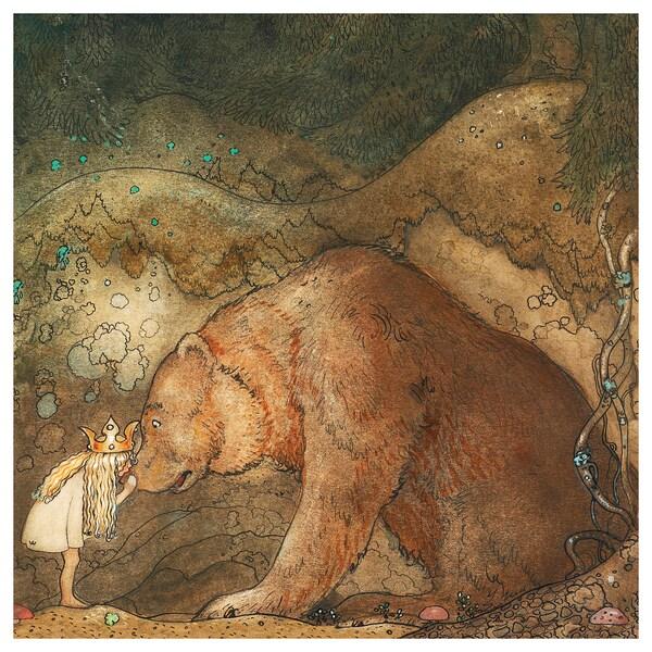 PJÄTTERYD Quadre, Conte de fades, 56x56 cm