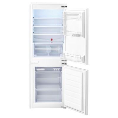 RÅKALL Frigorífic/congelador encastat A+, blanc, 152/79 l