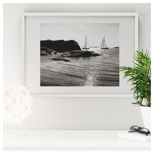 RIBBA Estructura, blanc, 30x40 cm