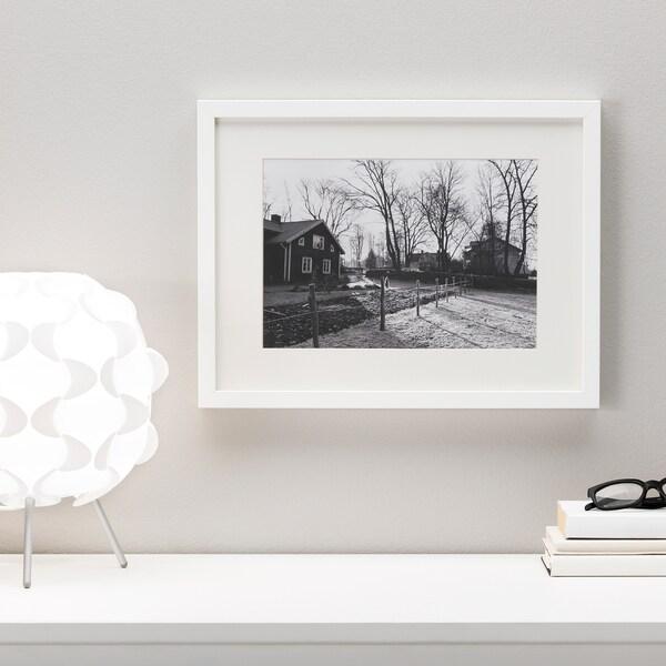 RIBBA Estructura, blanc, 40x50 cm