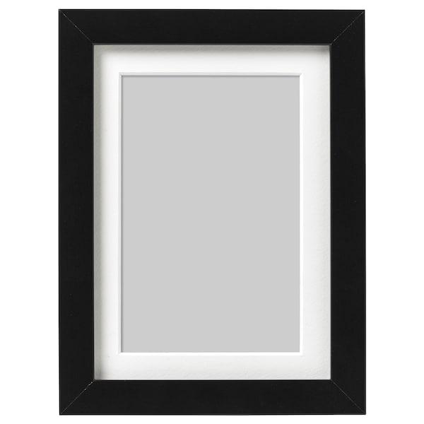 RIBBA Estructura, Negre, 13x18 cm
