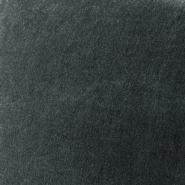 SANELA Funda de coixí, gris fosc, 40x65 cm