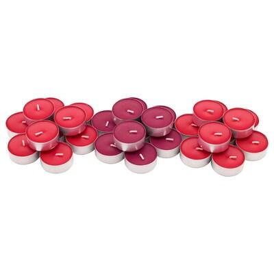 SINNLIG Espelma petita perfumada, baies vermelles/vermell