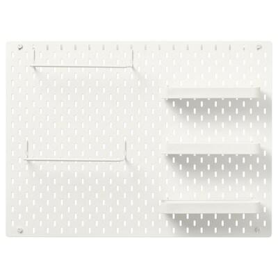 SKÅDIS Combinació de plantilles, blanc, 76x56 cm
