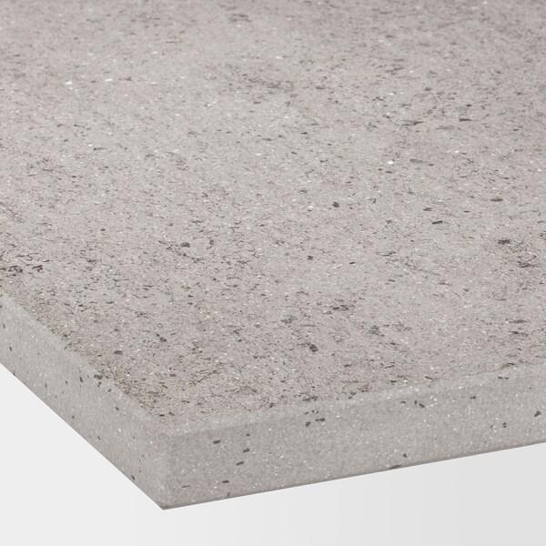SKARARP Taulell a mida, efecte ciment mat/ceràmica, 1 m²x2.0 cm