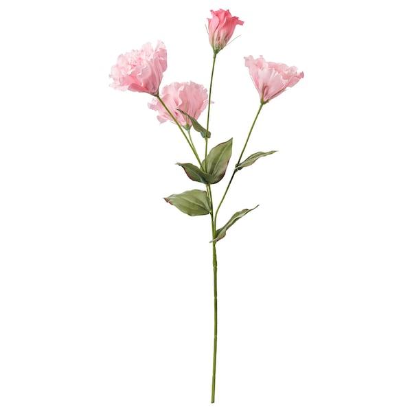 SMYCKA Flor artificial, Lisianthus/rosa, 60 cm