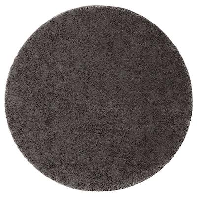 STOENSE Catifa, pèl curt, gris fosc, 130 cm