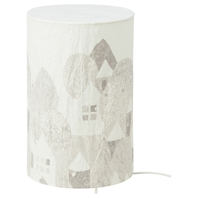 STRÅLA Llum de taula+LED, paisatge, 30 cm