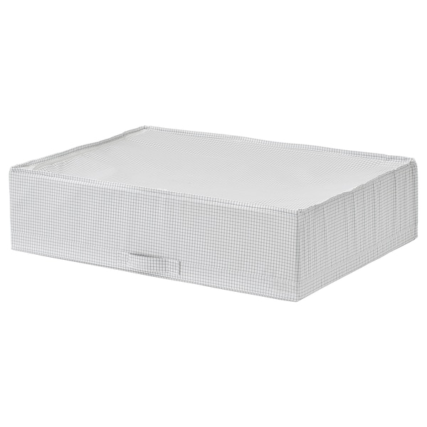 STUK Bossa d'emmagatzematge, blanc/gris, 71x51x18 cm