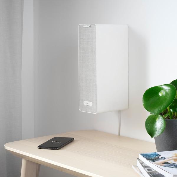 SYMFONISK / SYMFONISK Altaveu wifi amb suport, blanc, 31x10x15 cm