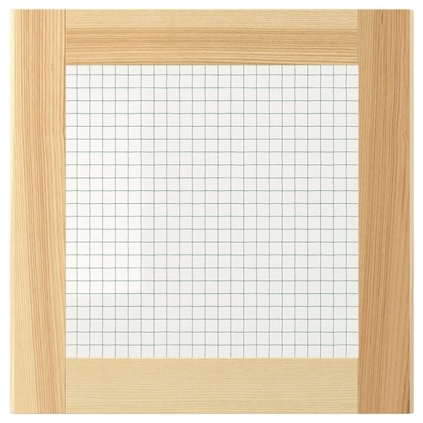 TORHAMN Porta de vidre, natural freixe, 40x40 cm