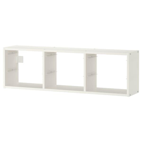 TROFAST Emmagatzematge de paret, blanc, 99x30 cm