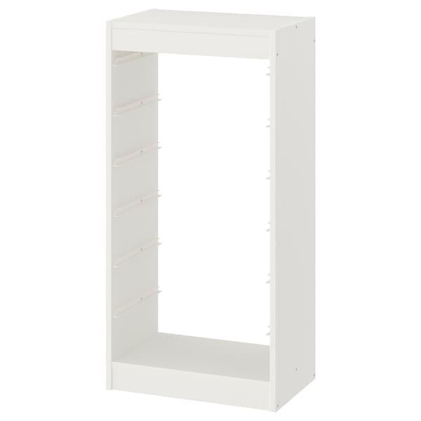 TROFAST Estructura, blanc, 46x30x94 cm