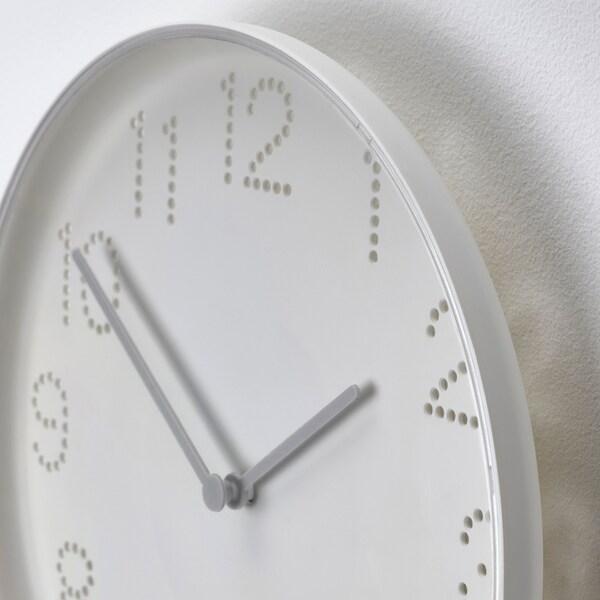 TROMMA Rellotge de paret, blanc, 25 cm