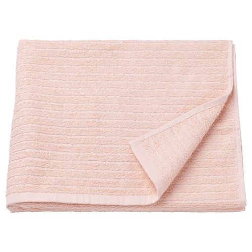 VÅGSJÖN tovallola de bany rosa clar 140 cm 70 cm 0.98 m² 400 g/m²