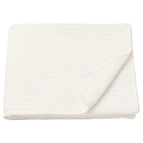 VÅGSJÖN tovallola de bany blanc 140 cm 70 cm 0.98 m² 400 g/m²
