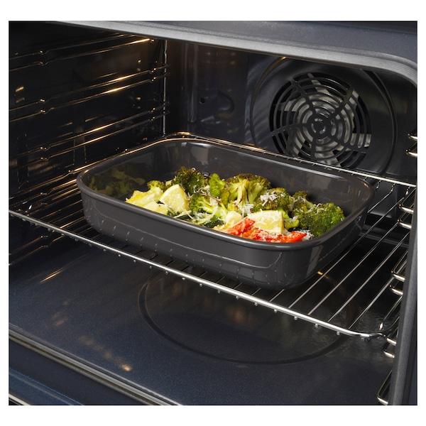 VARDAGEN Safata pel forn, rectangular/gris fosc, 29x23 cm