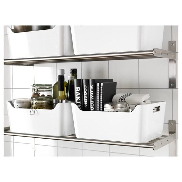 VARIERA Caixa, blanc, 34x24 cm