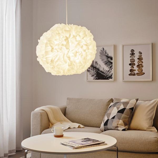 VINDKAST Llum de sostre, blanc, 50 cm