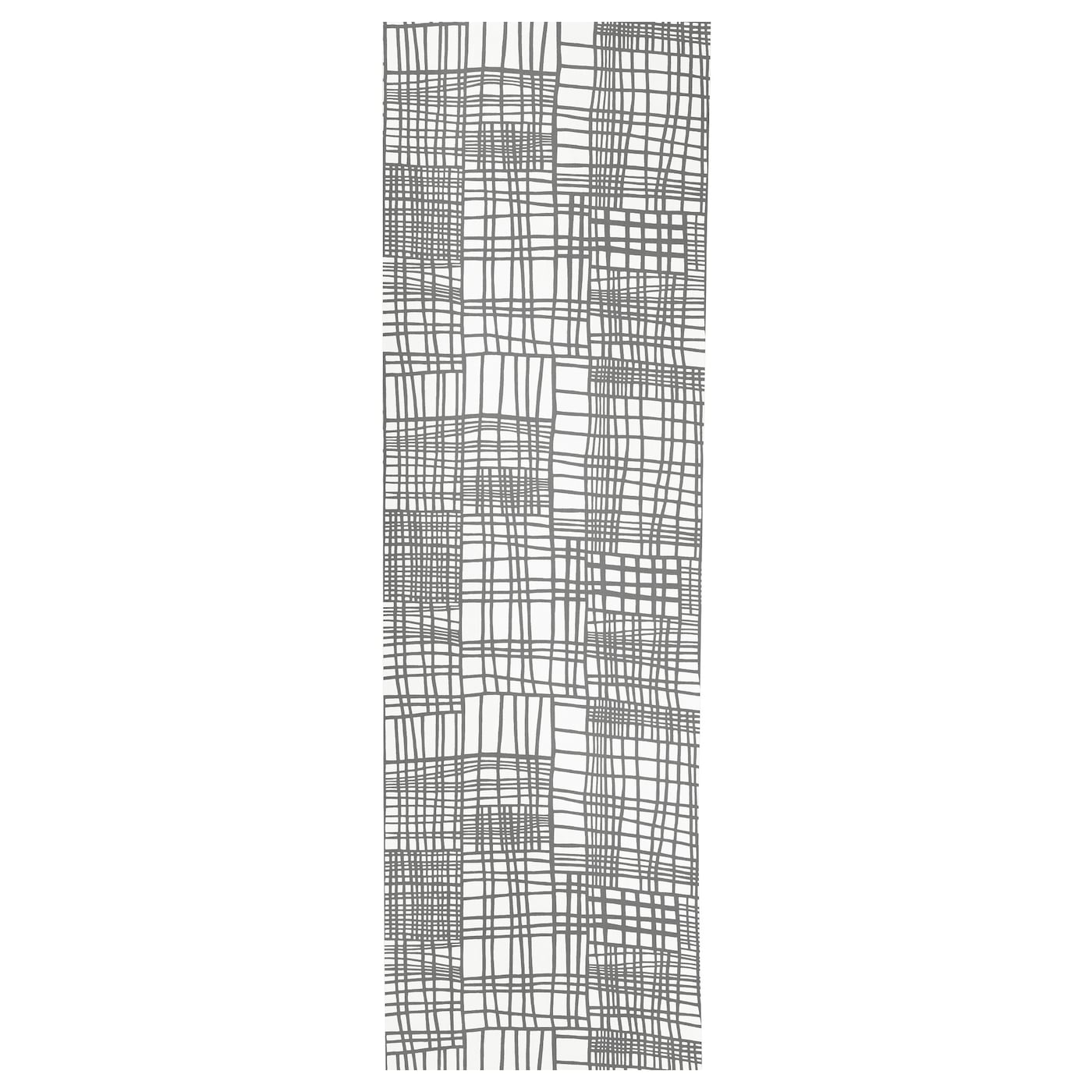 IKEA AKVELINA panel curtain Can be easily cut to the desired length without hemming.
