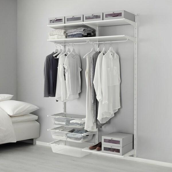 ALGOT Wall uprightshelvesrod white IKEA