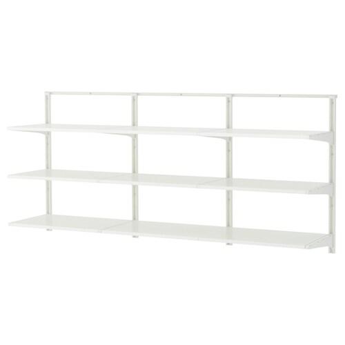 ALGOT wall upright/shelves white 190 cm 41 cm 87 cm