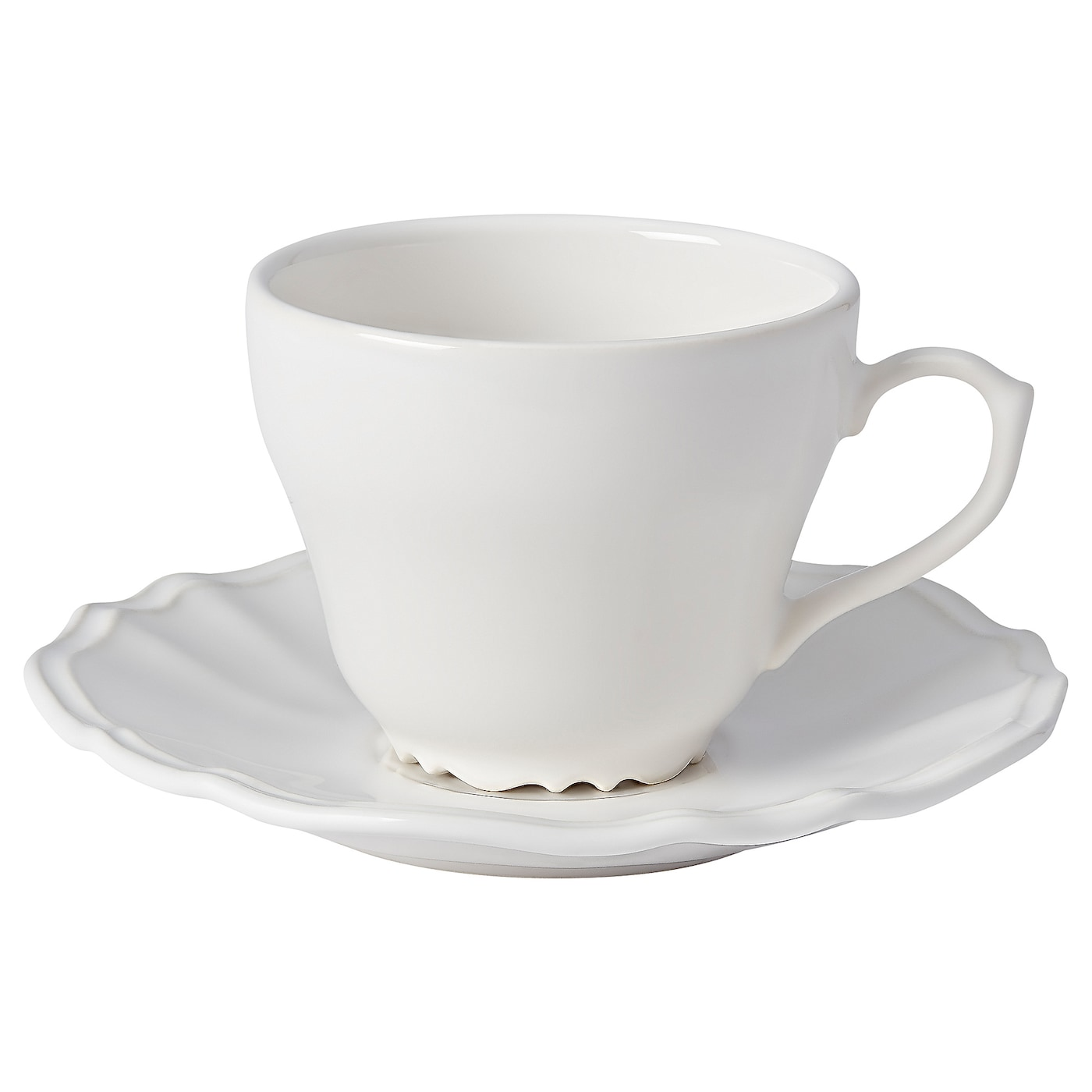 IKEA ARV coffee cup and saucer